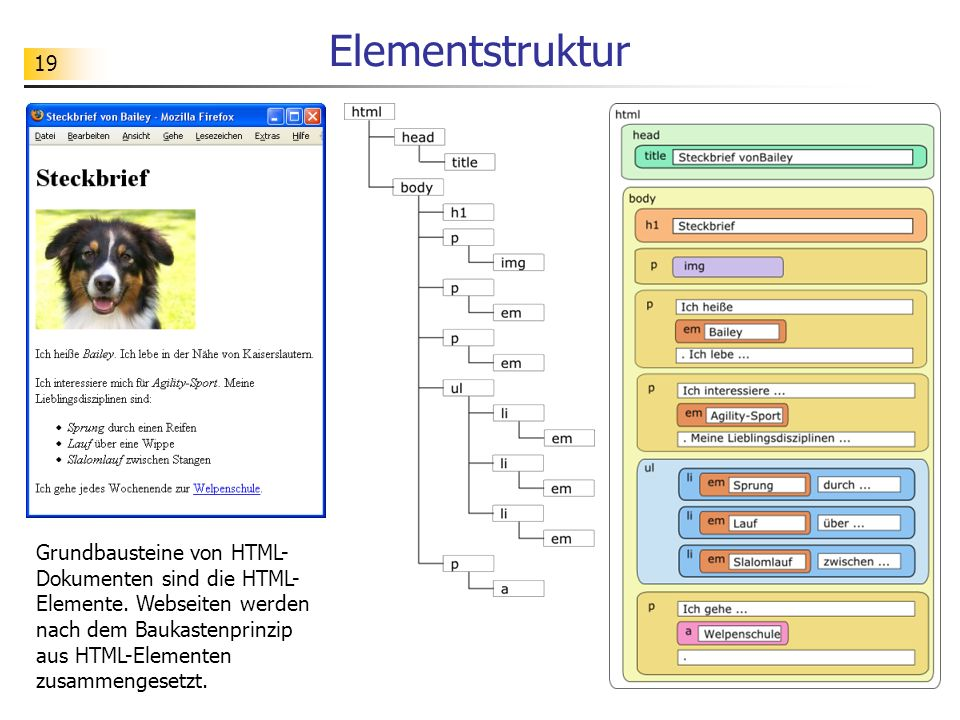 Elementstruktur