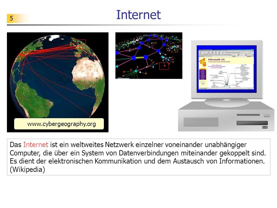 Internet www.cybergeography.org.