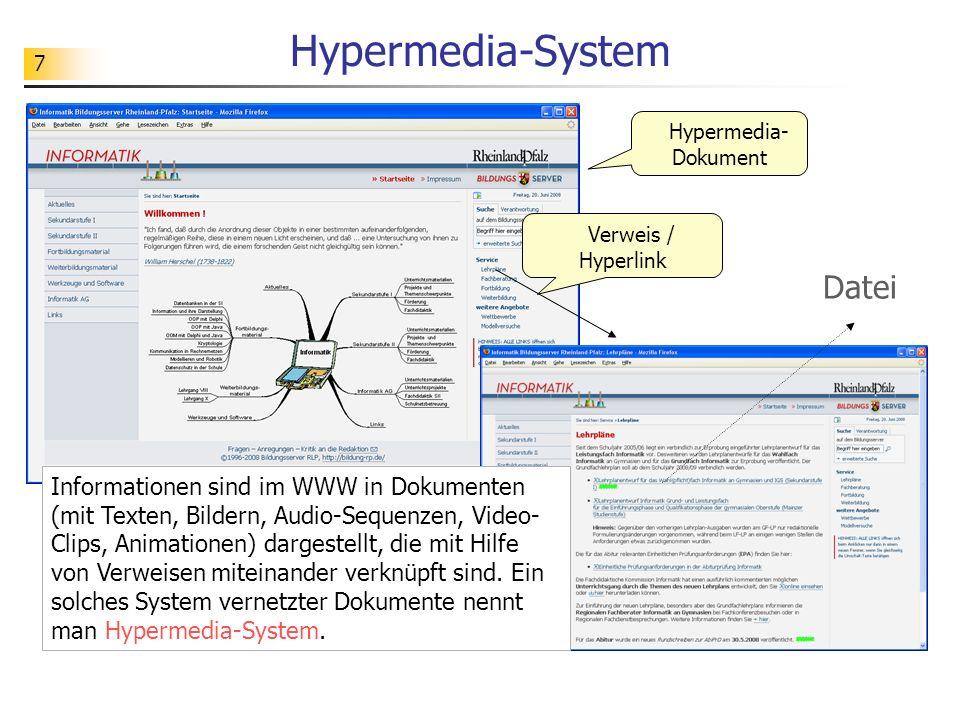 Hypermedia-System Datei