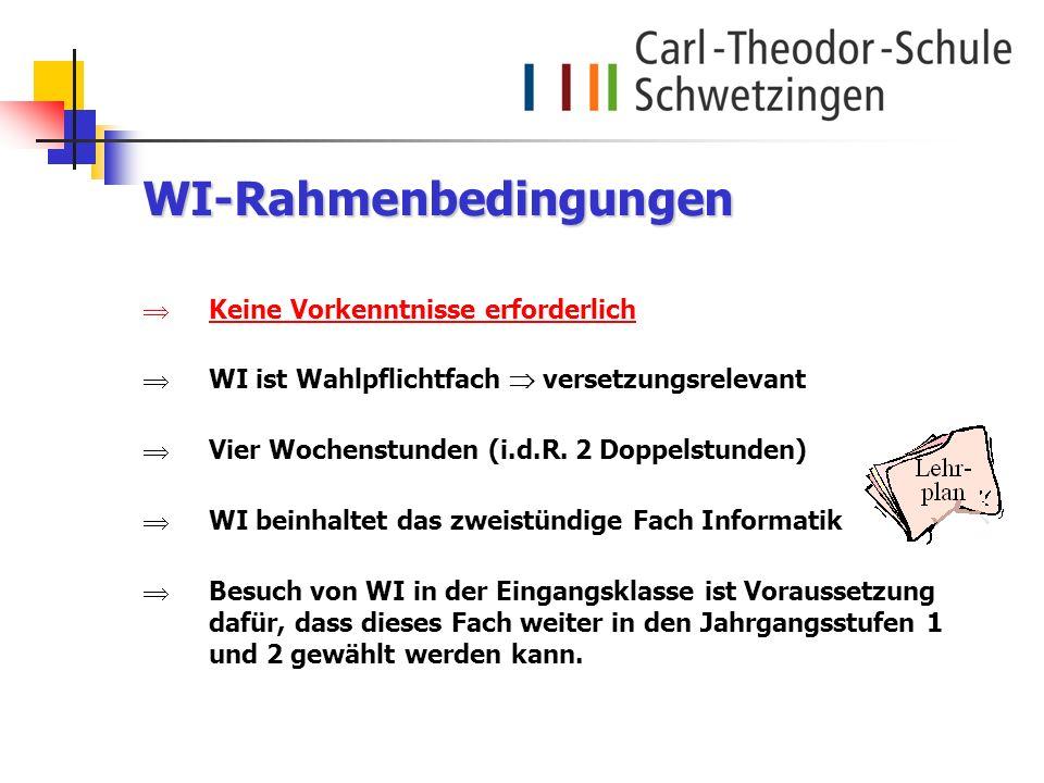 WI-Rahmenbedingungen
