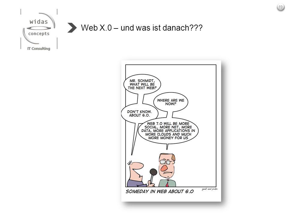 Web X.0 – und was ist danach