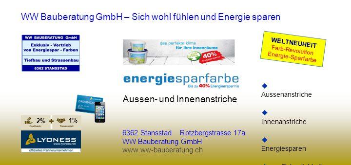 WW Bauberatung GmbH – Sich wohl fühlen und Energie sparen