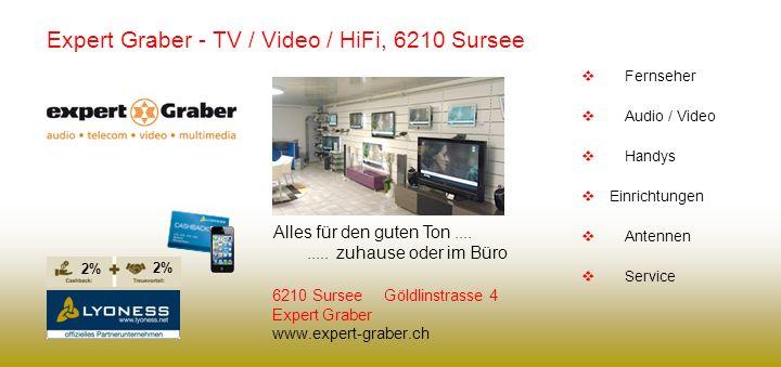 Expert Graber - TV / Video / HiFi, 6210 Sursee