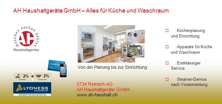 AH Haushaltgeräte GmbH – Alles für Küche und Waschraum