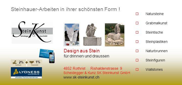 Steinhauer-Arbeiten in ihrer schönsten Form !