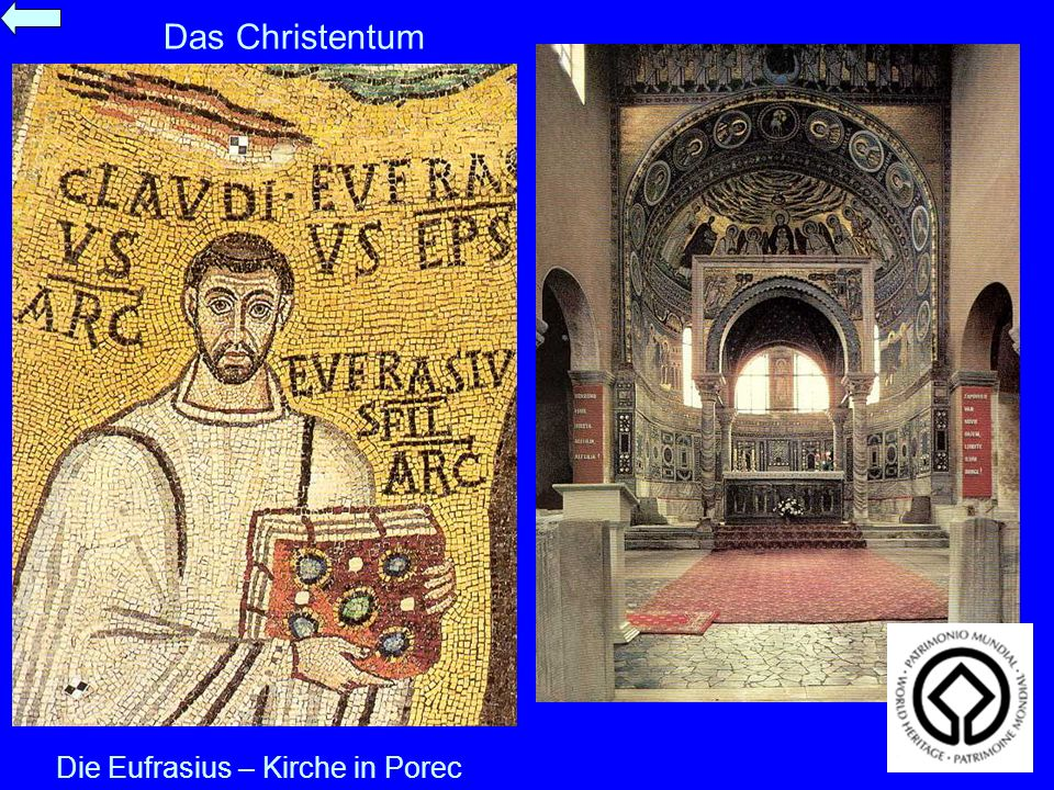 Die Eufrasius – Kirche in Porec