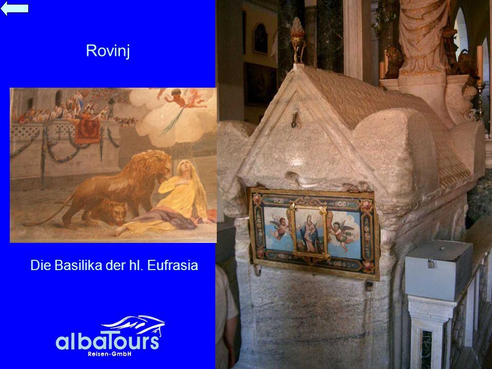 Die Basilika der hl. Eufrasia