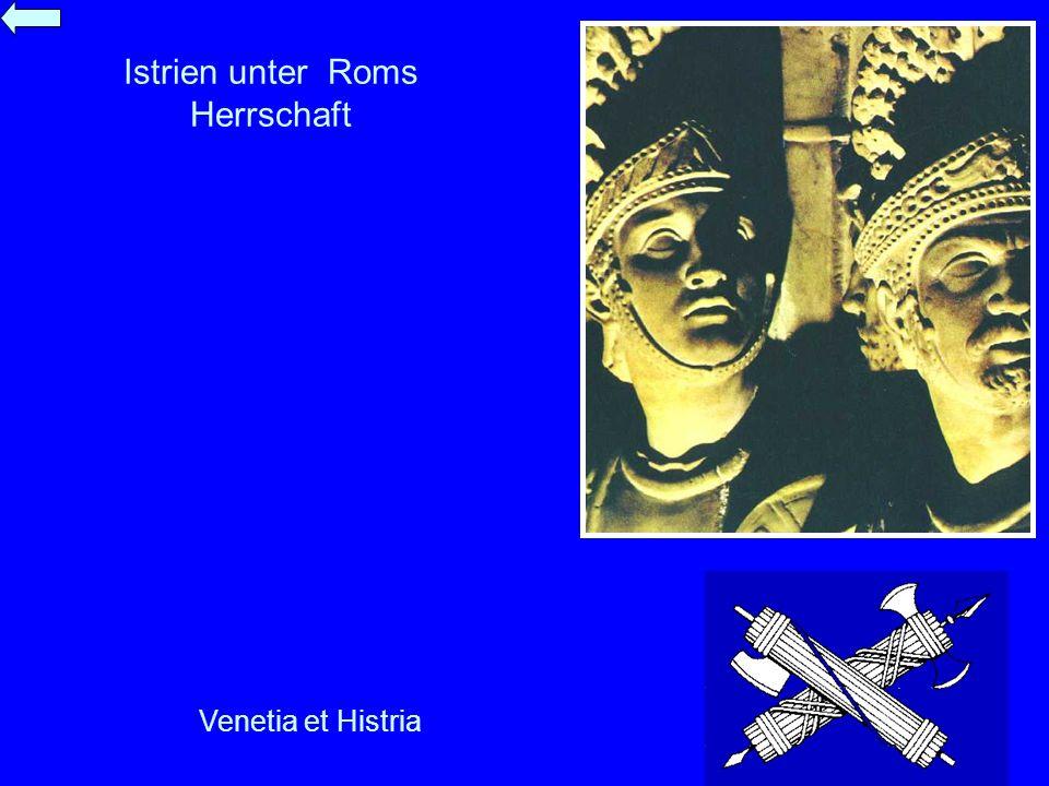 Istrien unter Roms Herrschaft