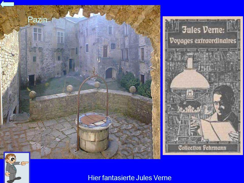 Hier fantasierte Jules Verne