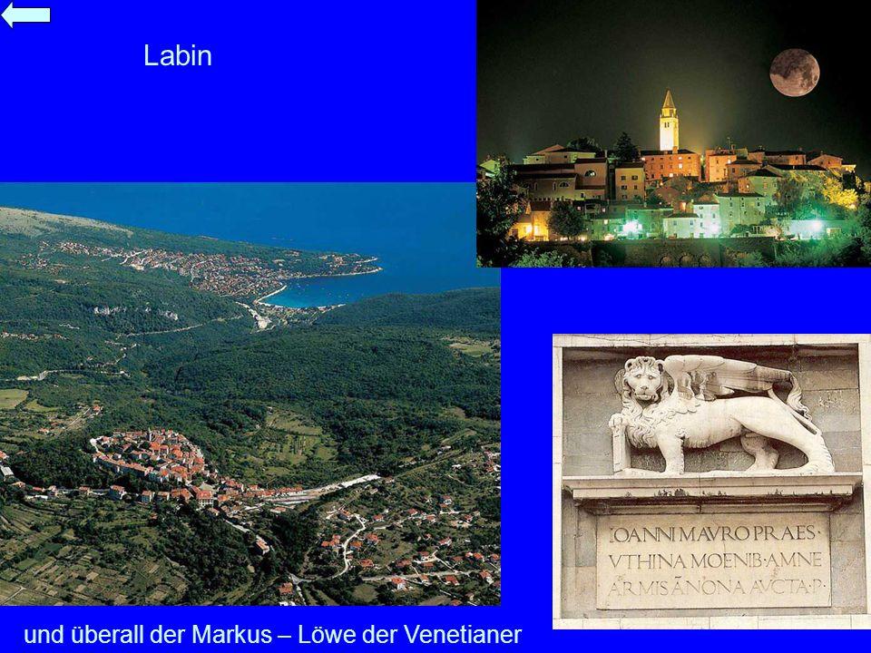 und überall der Markus – Löwe der Venetianer