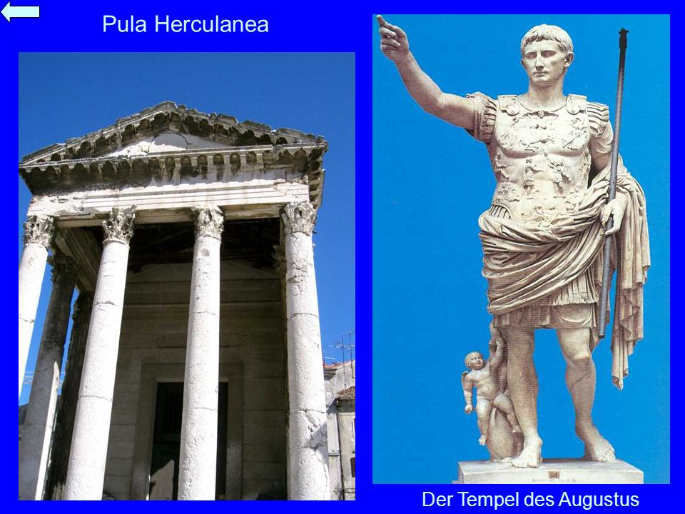 Der Tempel des Augustus