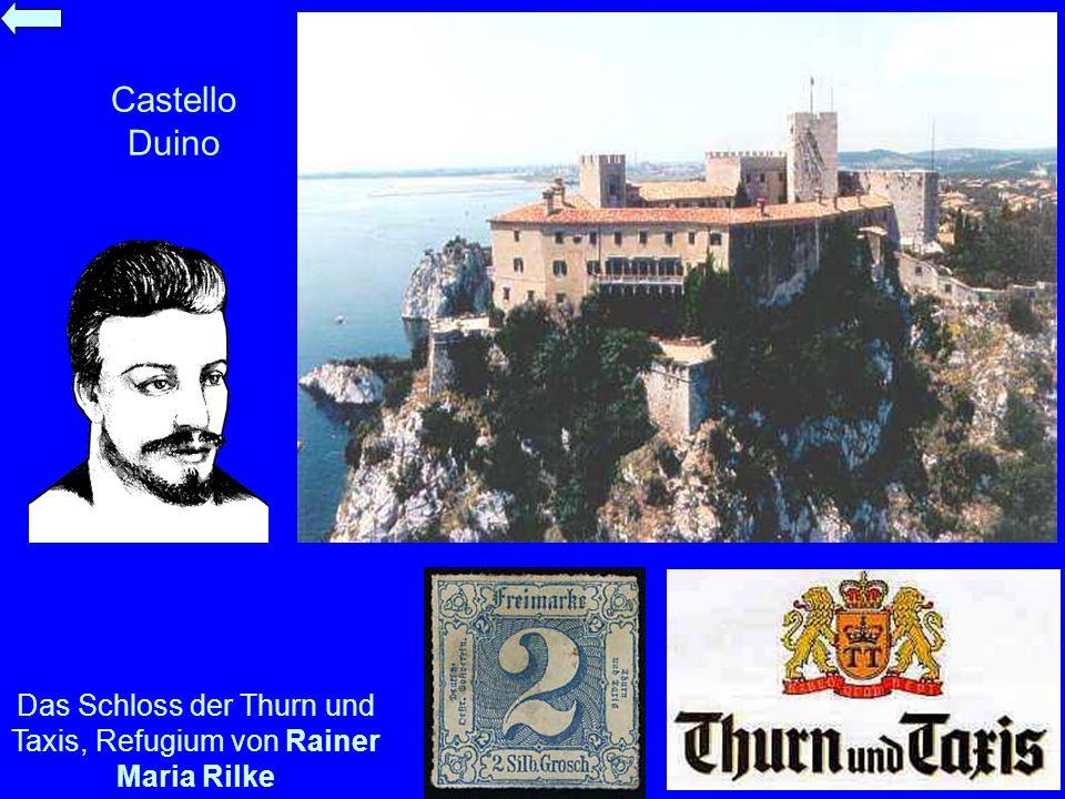 Das Schloss der Thurn und Taxis, Refugium von Rainer Maria Rilke