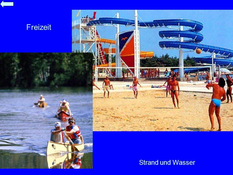Freizeit Strand und Wasser