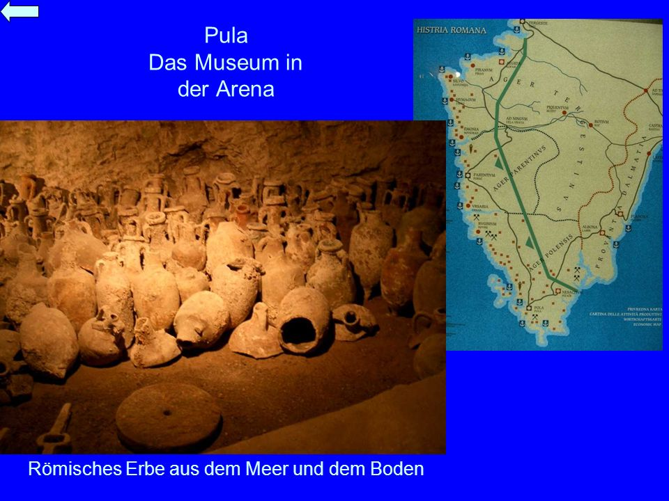 Pula Das Museum in der Arena