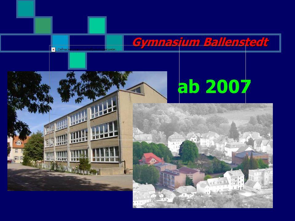 Gymnasium Ballenstedt