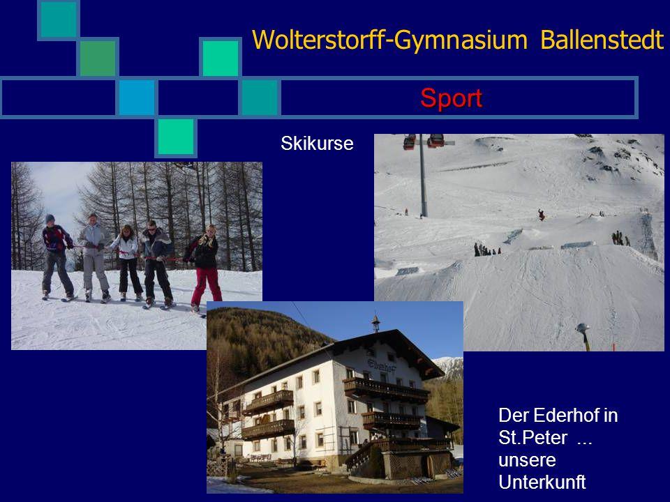 Wolterstorff-Gymnasium Ballenstedt