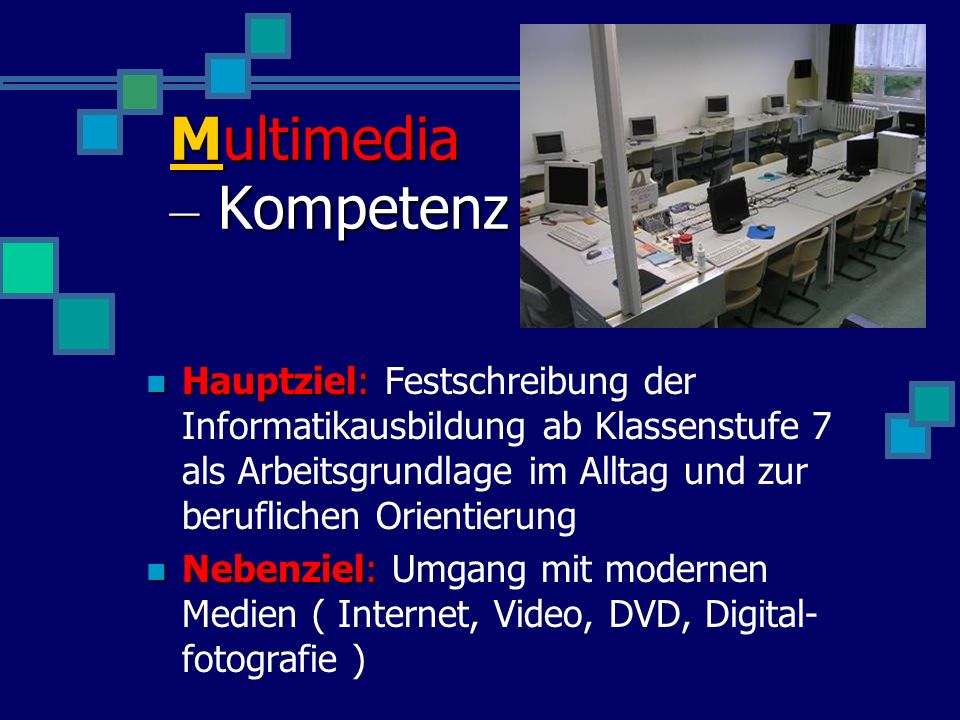 Multimedia – Kompetenz
