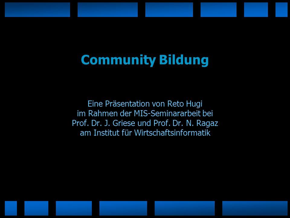 Community Bildung