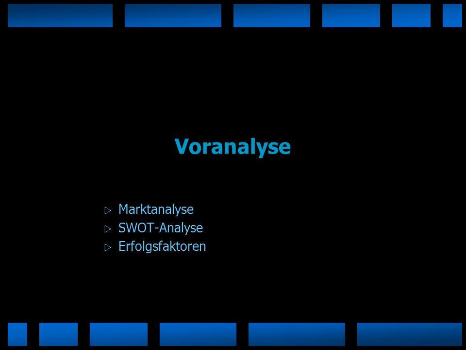 Marktanalyse SWOT-Analyse Erfolgsfaktoren