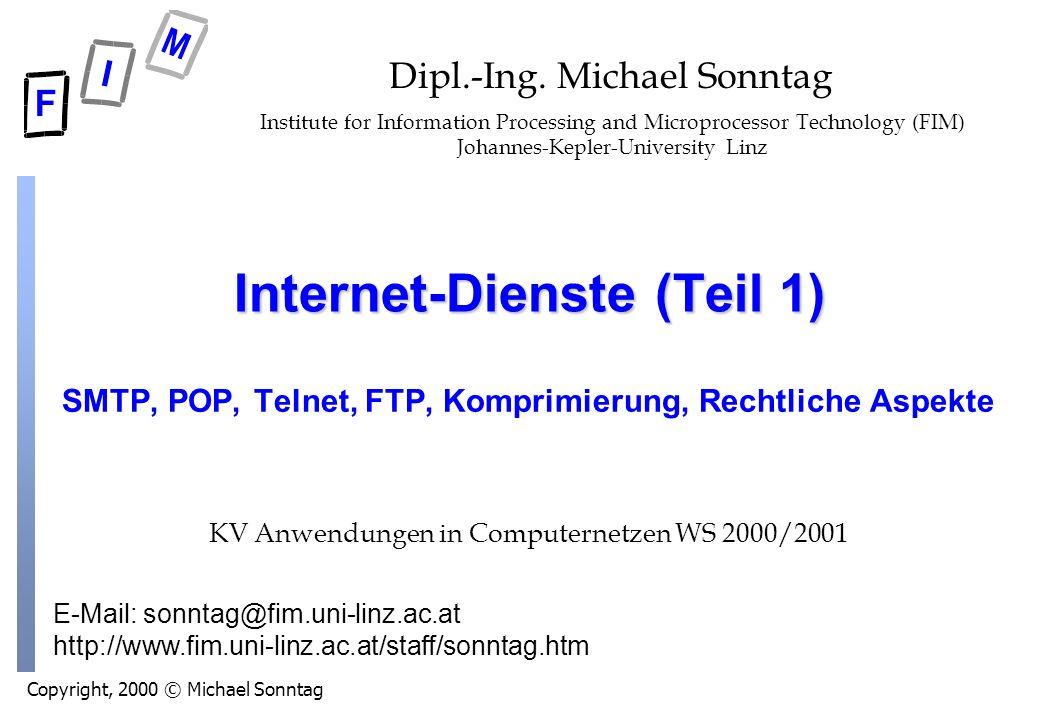 Internet-Dienste (Teil 1)