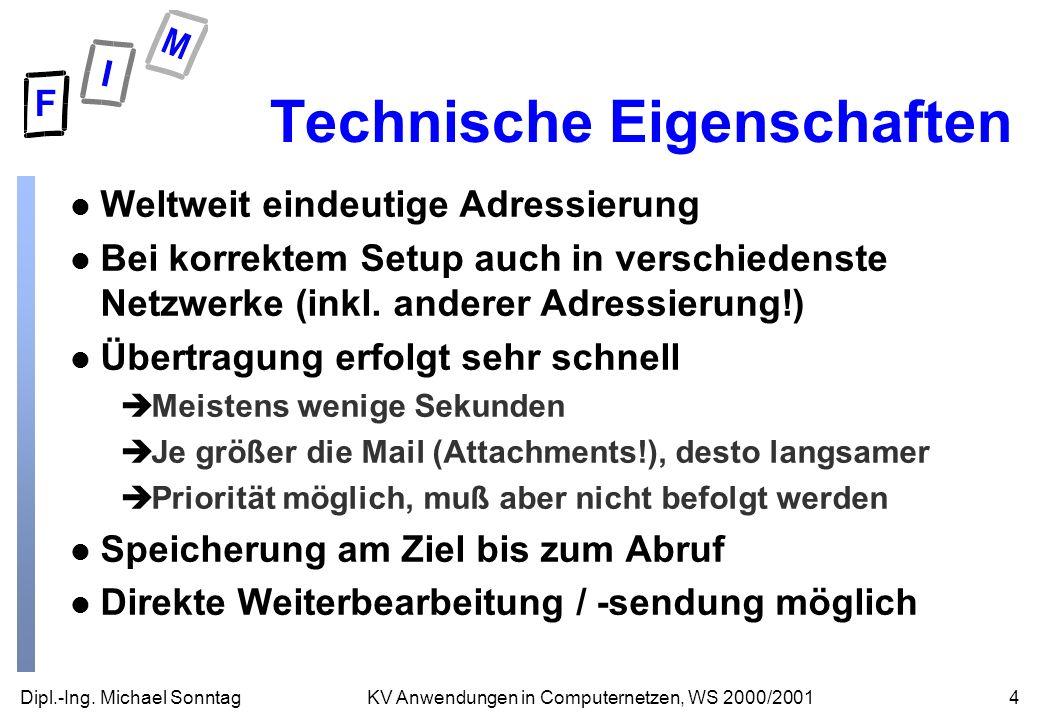 Technische Eigenschaften