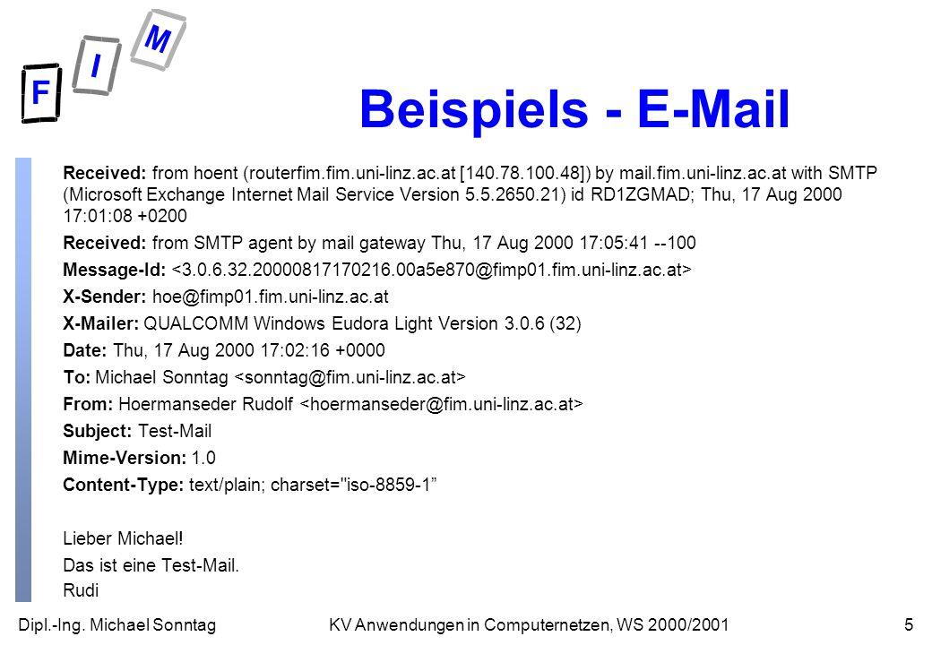 Beispiels - E-Mail