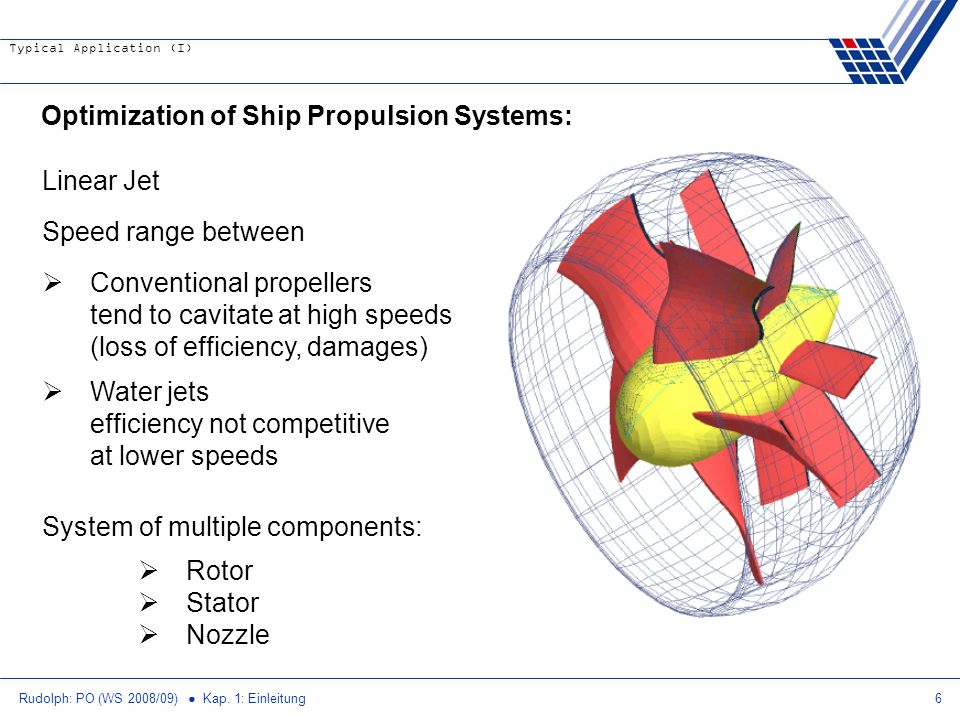 Optimization of Ship Propulsion Systems: