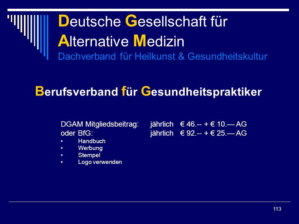 Berufsverband für Gesundheitspraktiker