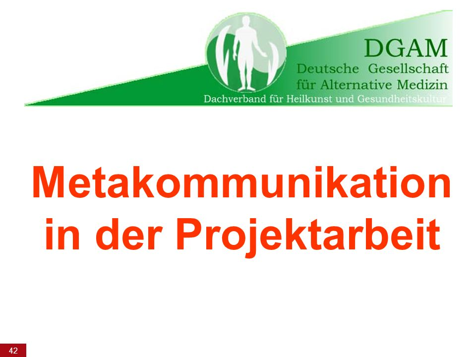 Metakommunikation in der Projektarbeit