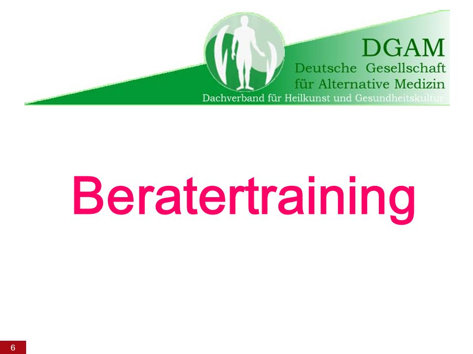 Beratertraining