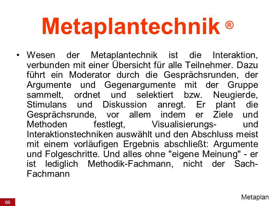 Metaplantechnik ®