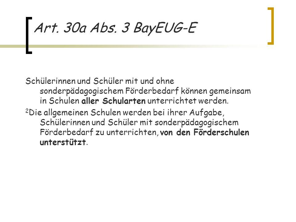 Art. 30a Abs. 3 BayEUG-E