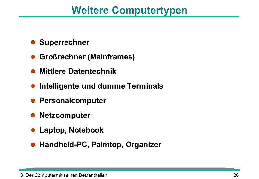 Weitere Computertypen