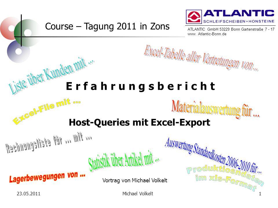 Host-Queries mit Excel-Export