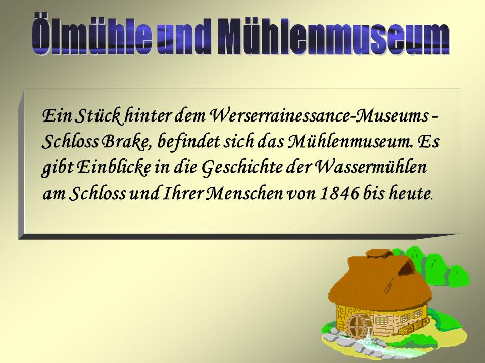 Ölmühle und Mühlenmuseum
