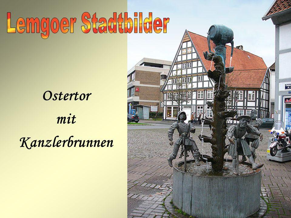 Ostertor mit Kanzlerbrunnen