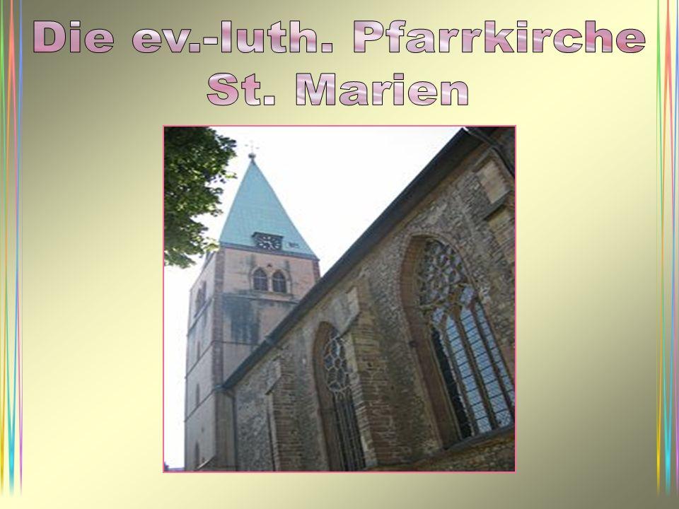 Die ev.-luth. Pfarrkirche