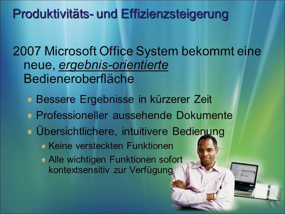 Produktivitäts- und Effizienzsteigerung