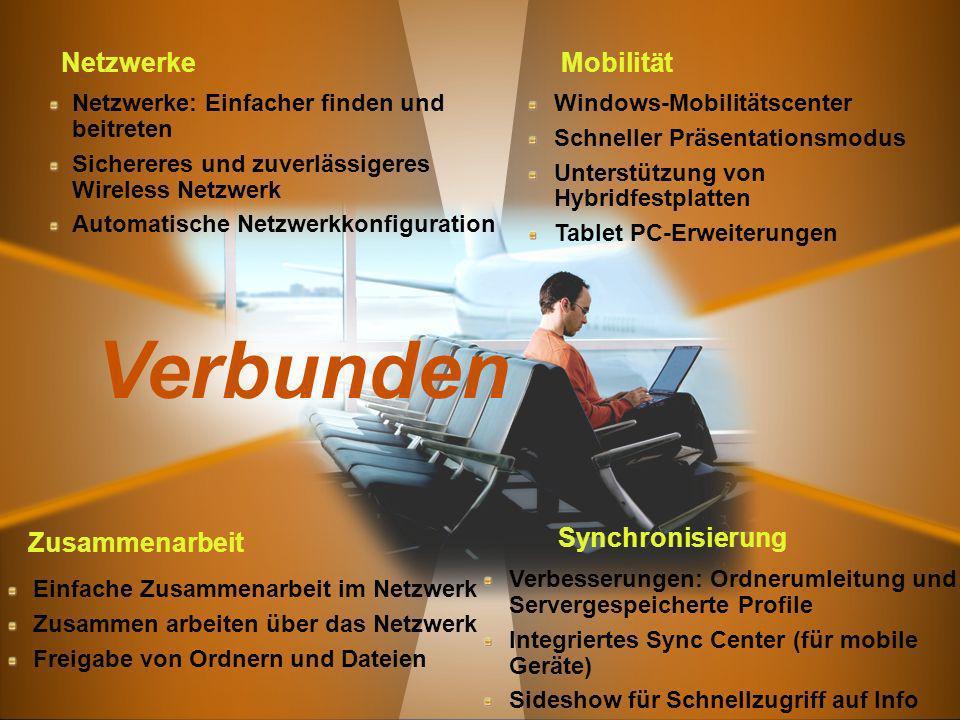 Verbunden Netzwerke Mobilität Zusammenarbeit Synchronisierung