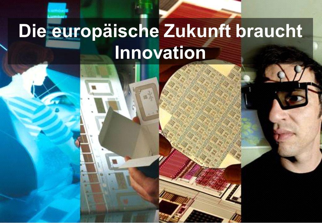 Die europäische Zukunft braucht Innovation
