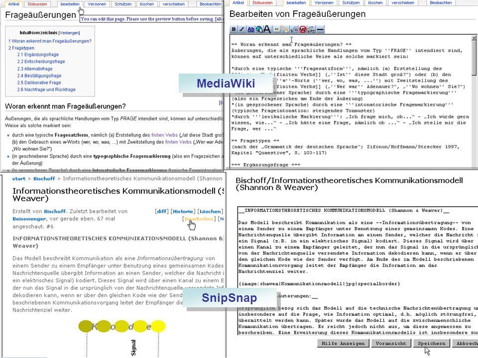Einfachheit: Artikel erstellen und bearbeiten