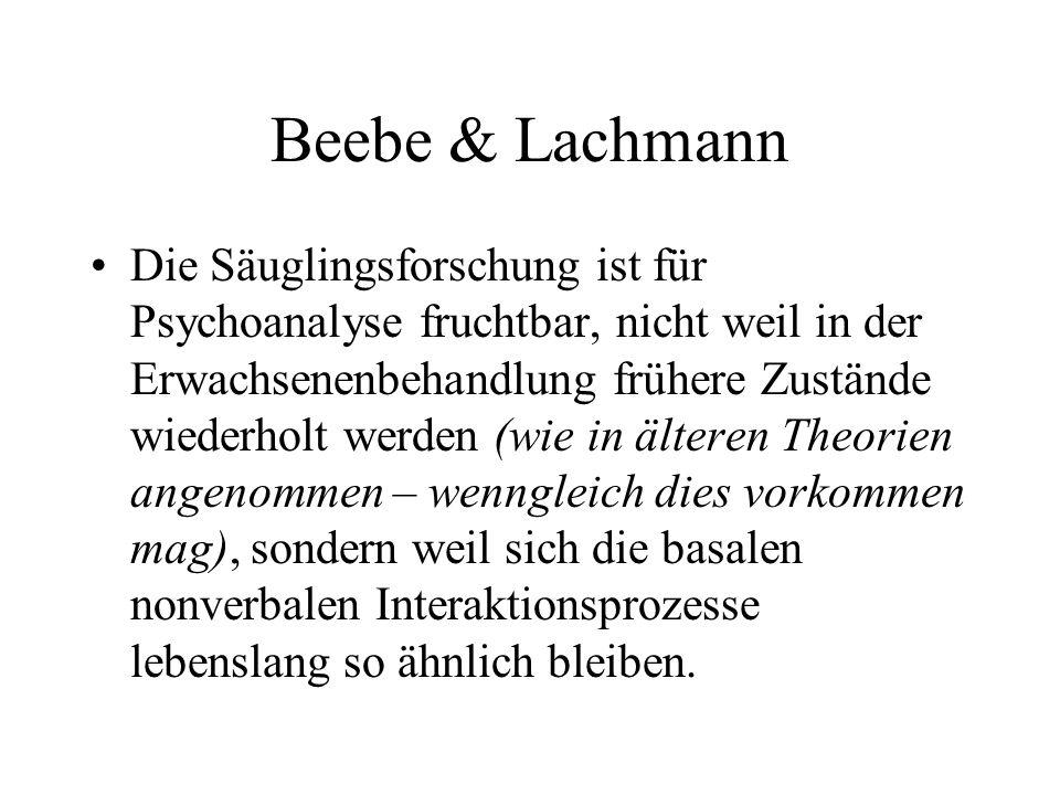 Beebe & Lachmann