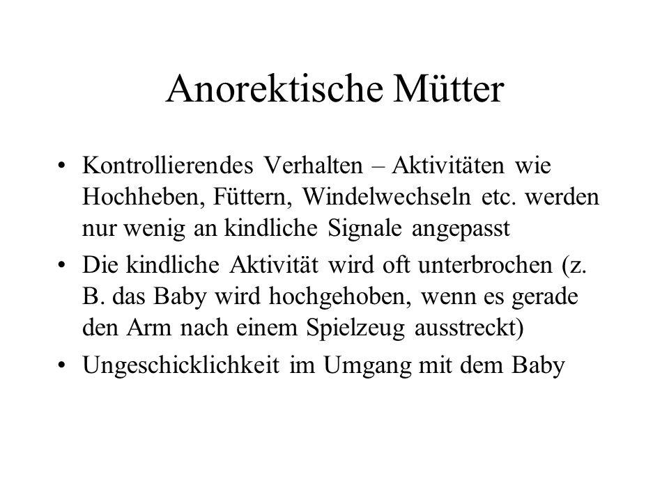 Anorektische Mütter