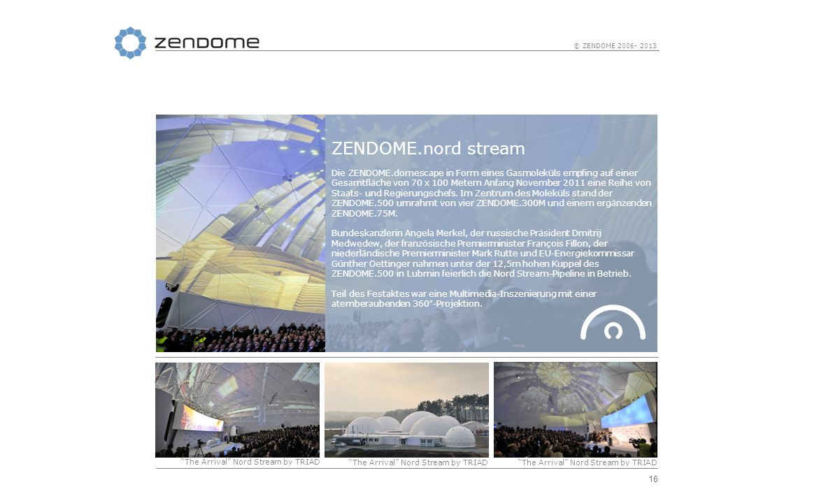 ZENDOME.nord stream