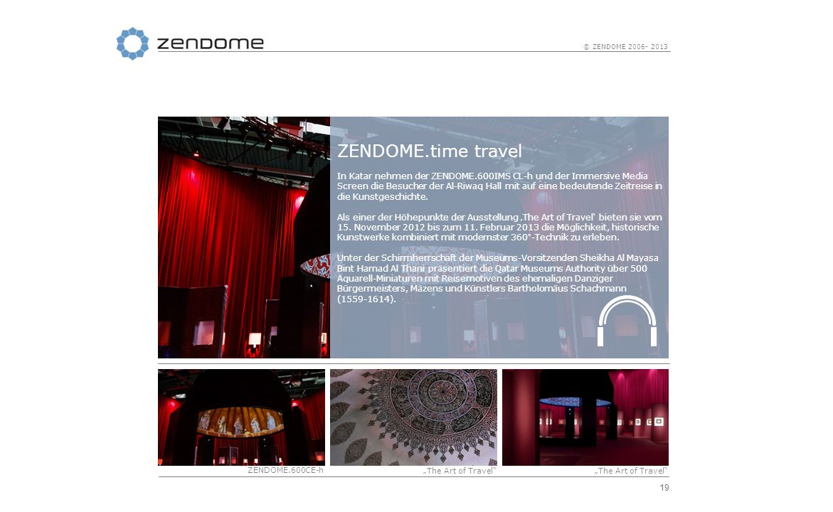 ZENDOME.time travel