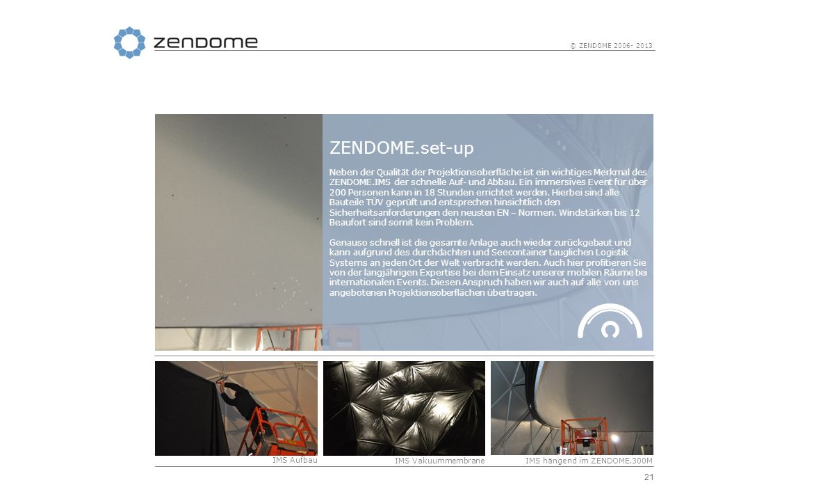 ZENDOME.set-up