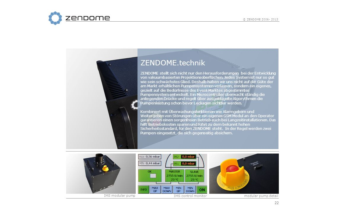 ZENDOME.technik
