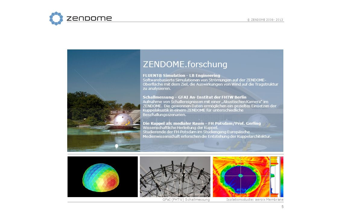 ZENDOME.forschung FLUENT® Simulation - LB Engineering
