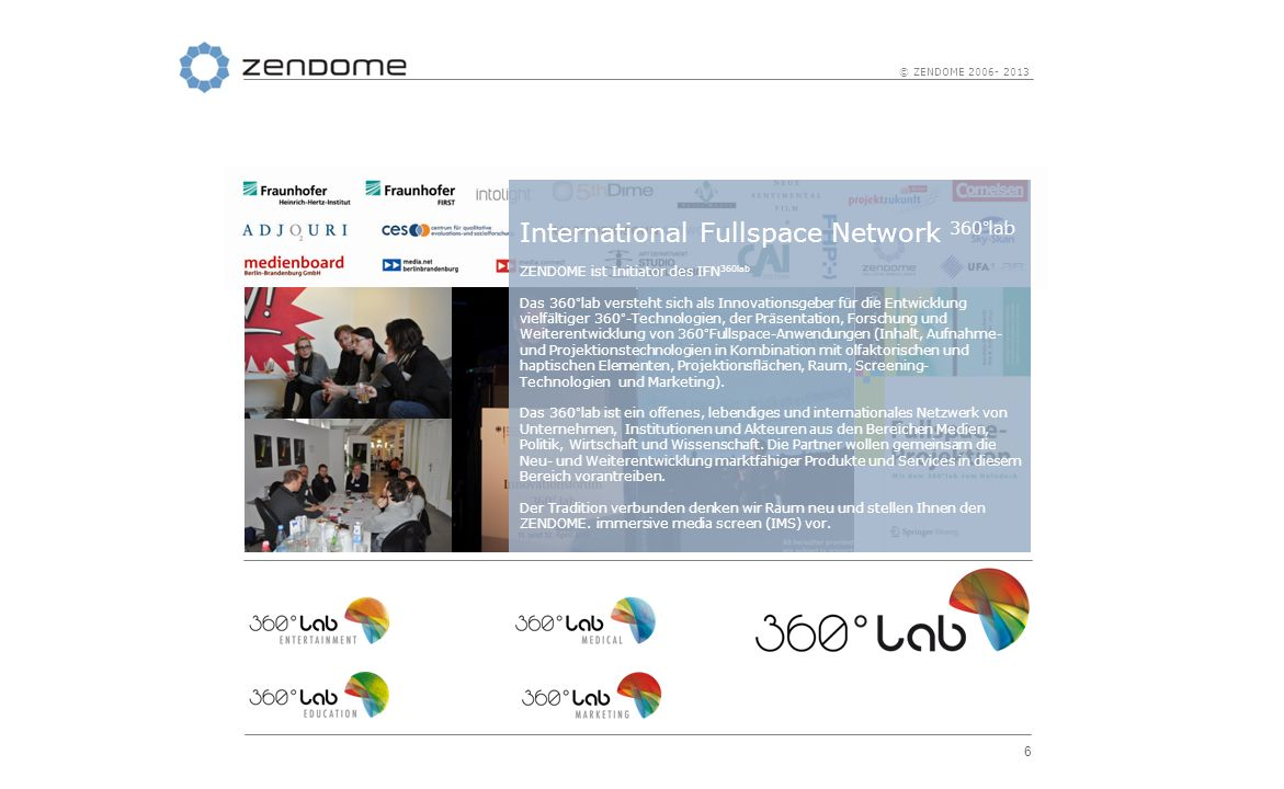 International Fullspace Network 360°lab