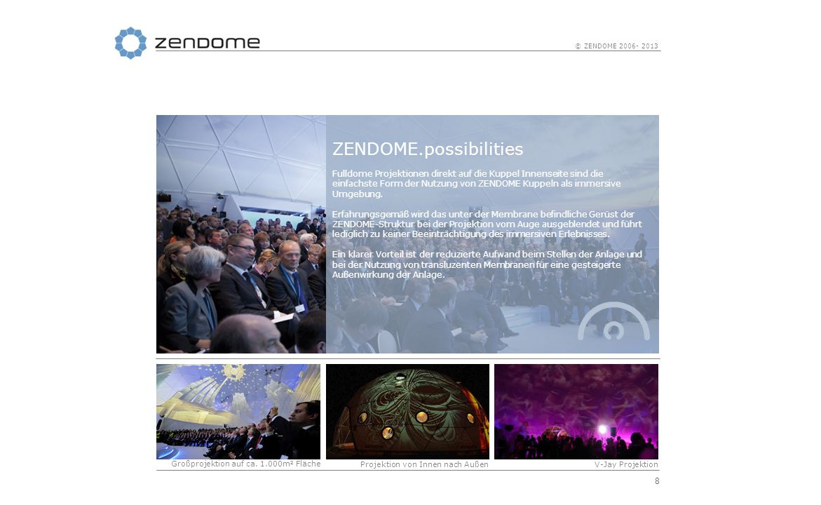 ZENDOME.possibilities